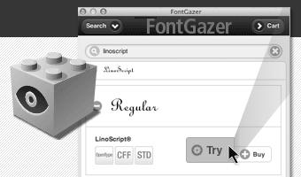 FontGazer